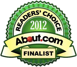 About.com 2012 Readers Choice Award